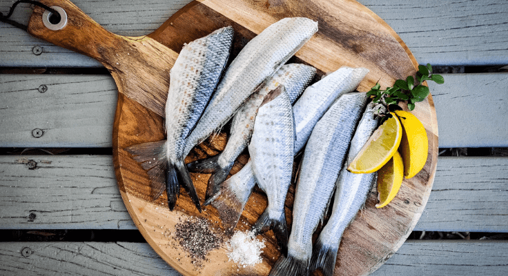 fatty fish for better radiant skin
