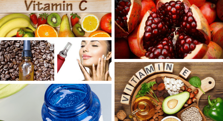 natural foods and face products for youthful looks and better skin