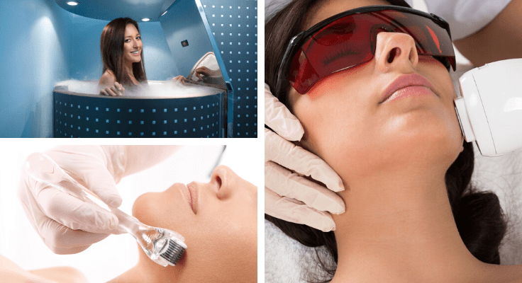 cryotherapy treatment for anti aging biohacking