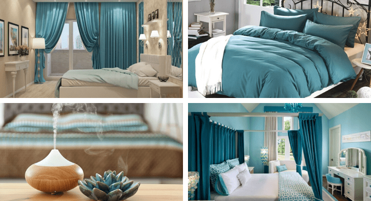 bedroom necessities for better sleep - quality bedding, blackout curtains, humidifier