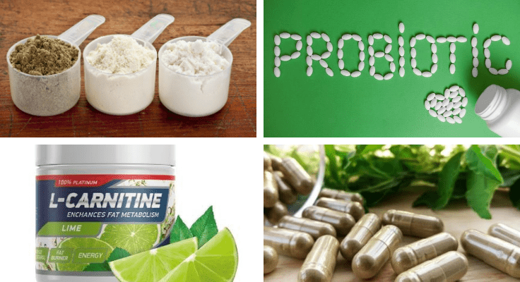 powders and supplements that help to slim your body