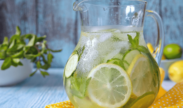 drinking more water for youthful looking skin