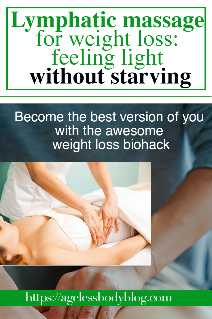 lymphatic massage for weight loss biohacking