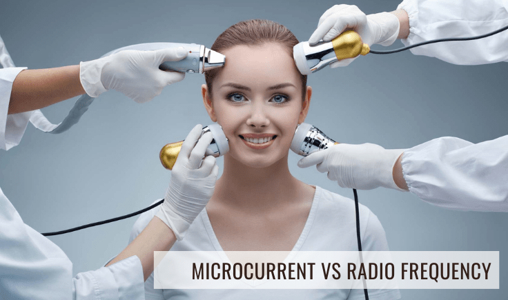 comparing and contrasting microcurrent vs radio frequency