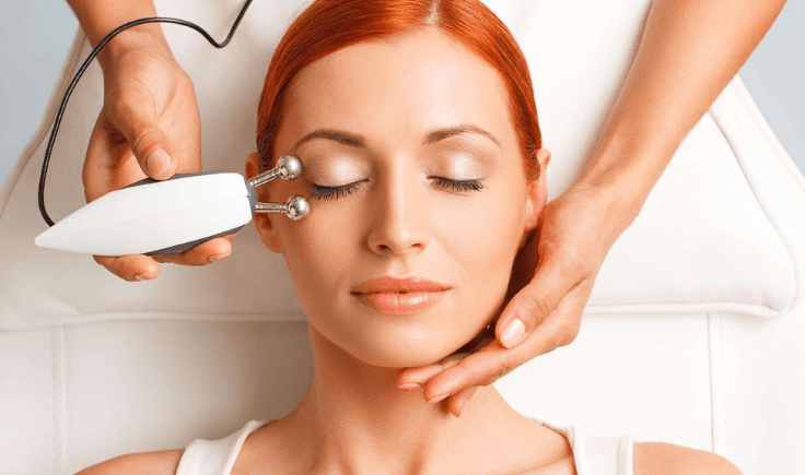 how to use the best of both worlds radio frequency and microcurrent together for skin tightening