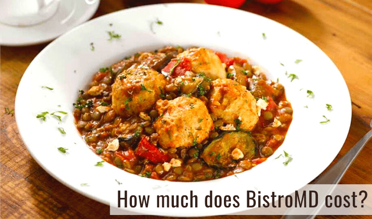 Chicken Meatballs with Lentils and Spiced Tomato Sauce by BistroMD