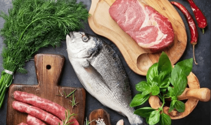 BistroMD meat and seafood list