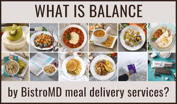 what is balance by bistromd meal delivery services