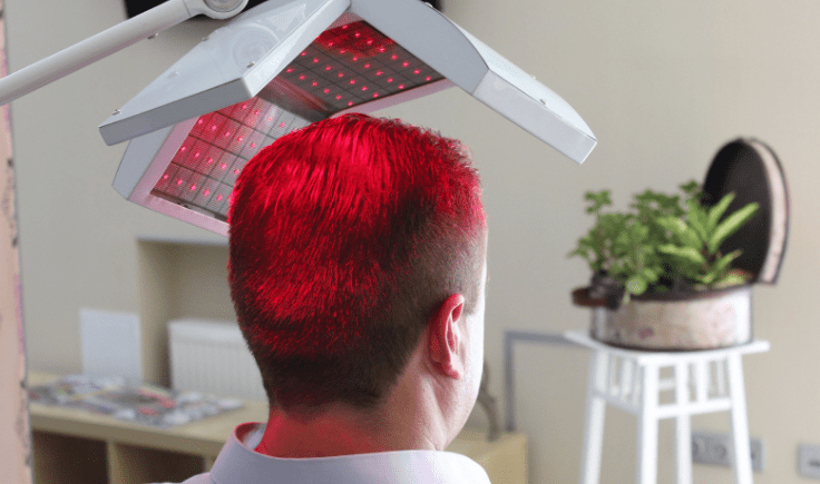 preventing hair loss in men tip# 7 get laser therapy