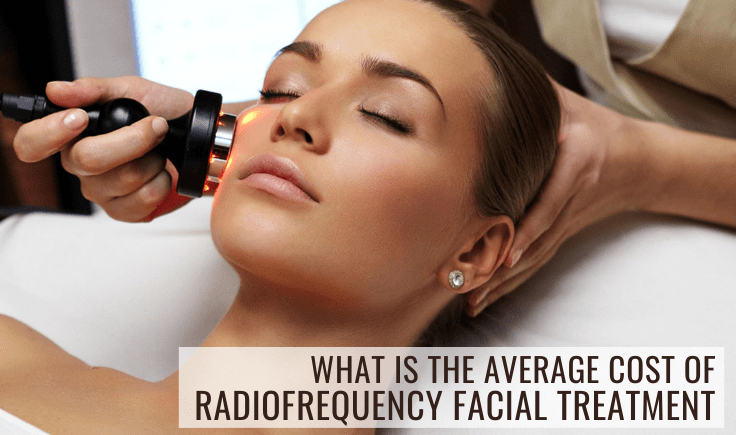 what is the average cost of radiofrequency facial treatment