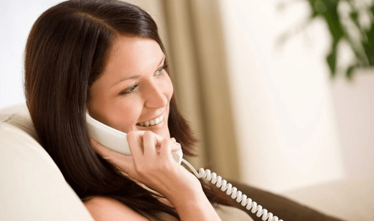 use desk phone over the cordless phone