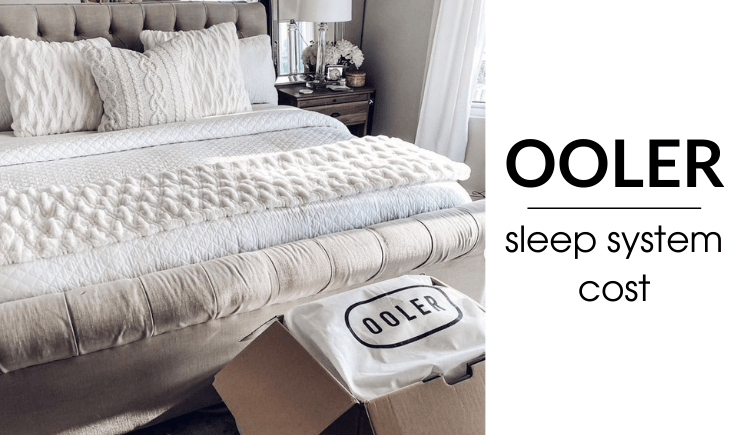 how much does the ooler sleep system cost