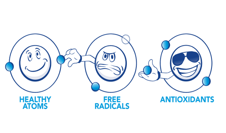how to neutralize free radicals