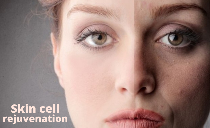 Skin quality before and after following anti aging regimen